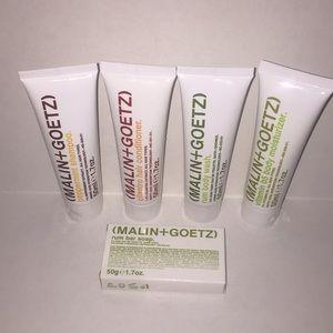 Malin + Goetz Travel Toiletries Set 1.7oz. Each